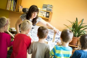 Ilustrativní fotografie dětí ve školce.